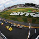 The start of the Nationwide Series race Saturday at Daytona International Speedway (Photo: Jared C. Tilton/Getty Images)