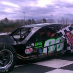 Keith Rocco celebrates in victory lane Sunday at Thompson Speedway (Photo: NASCAR)