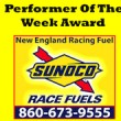 NE Performer Of The Week Award Logo
