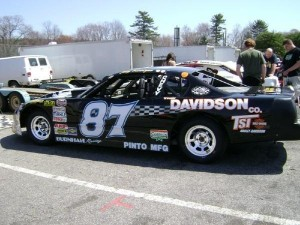 Joey Ferrigno's Limited Late Model at Stafford Speedway in 2008. (Photo: Joey Ferrigno)